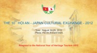 "The programme of  ""The 10th Hoi An-Japan culture exchange - 2012"""