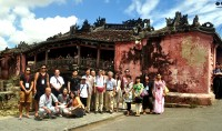 "The special tour ""Japanese old traces"