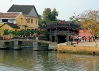 Japanese Covered Bridge in Hội An