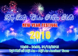 Event information - Hội An New Year Festival