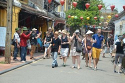 Temporarily suspend entrance ticket sale for Hoi An Ancient Town and Thanh Ha Pottery Village on the...