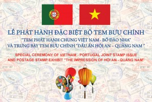 A call to attend the special ceremony of Vietnam - Portugal joint stamp issue