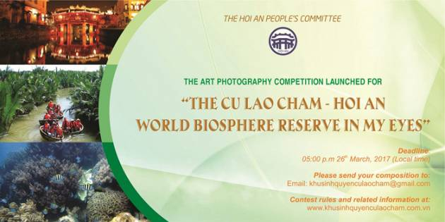 The world biosphere reserve of Cu Lao Cham – Hoi An Photo Contest Launched