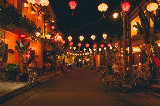 des lanternes Hoi An