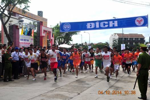 "Invitation To the running race:  ""For The World Cultural Heritage of Hoi An""..."