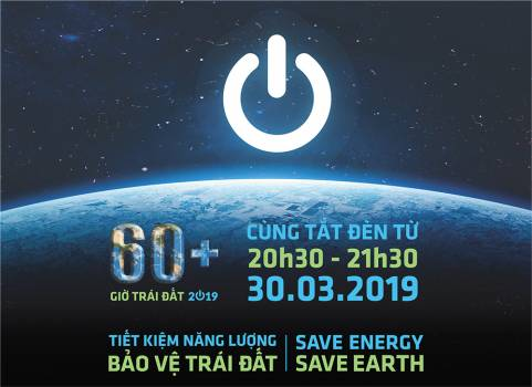 """Earth hour 2019 save energy – save earth"""