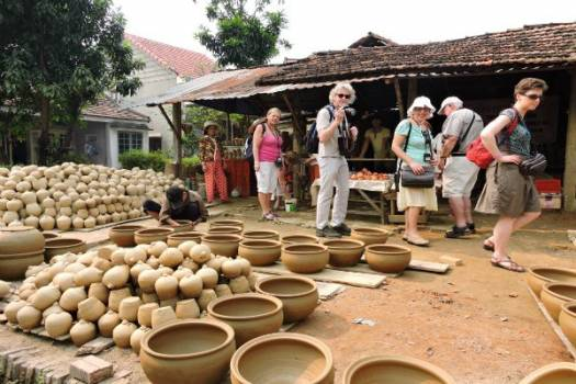 Thanh Hà pottery has been recognized as national intangible cultural heritage