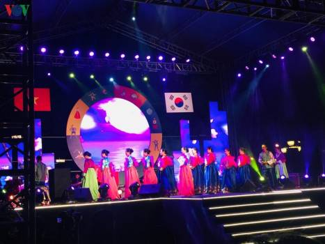 The Opening Ceremony of Korean Cultural Days in Quảng Nam,  in 2019