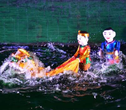 Visit Hội An and watch water puppet show