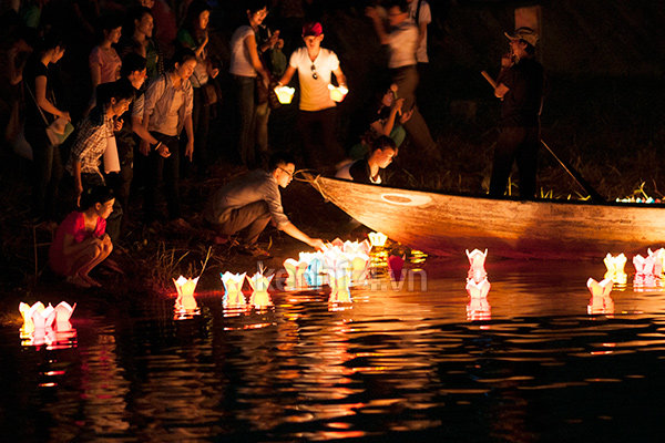 Hội An Lantern Festival, one of Vietnam