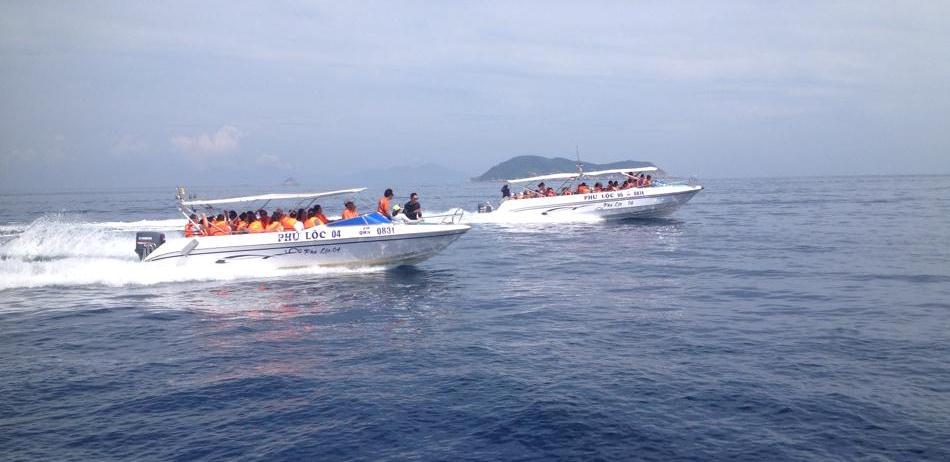 Cano ra Cu Lao Cham
