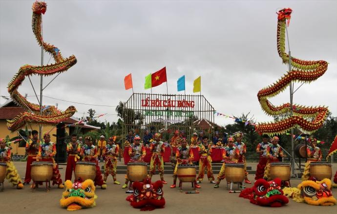 Độc đáo lễ mở mùa Cầu Bông ở làng rau phố cổ Hội An