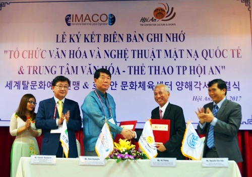 Hội An và IMACO ký kết biên bản hợp tác văn hóa
