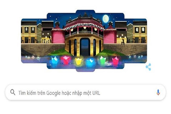 Google Doodles honor Hoi An as the most charming city - Hoi